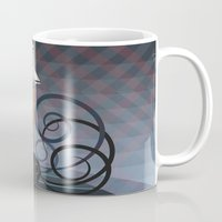 gravity Mugs featuring Gravity by milanova