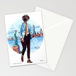 The New York Man Stationery Cards