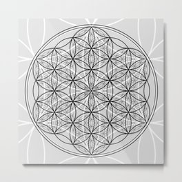 Exhilarate - The Sacred Geometry Collection Metal Print