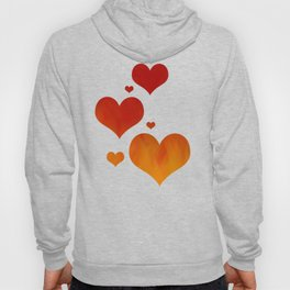Flames of Gold Hoody