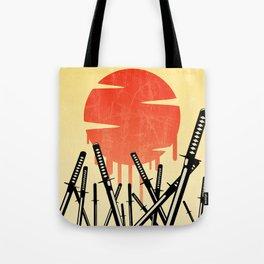 Katana Junkyard Tote Bag