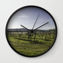 In a Bowl Wall Clock