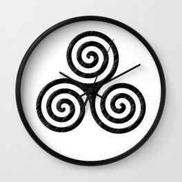Triskele Wall Clock
