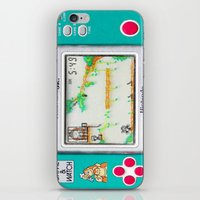 donkey kong iPhone & iPod Skins featuring DONKEY KONG RETRO GAME by BESTIPHONE5CASESHOP