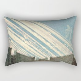 retrospective on the terrace Rectangular Pillow