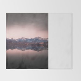 Avigliana Lake Throw Blanket