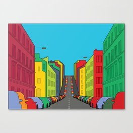 Tenement Hill Canvas Print