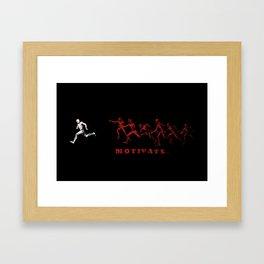 Motivate Framed Art Print