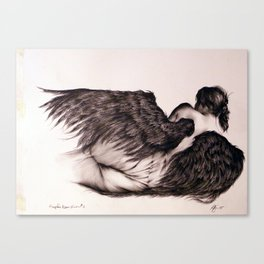 Angels Never Know #3 Canvas Print