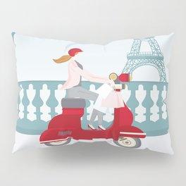 Shopping in Paris Pillow Sham