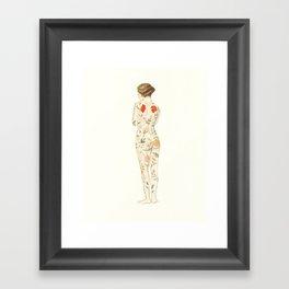 The Hidden Garden Framed Art Print
