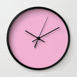 Pink Candyfloss Wall Clock