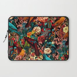 FLORAL AND BIRDS XVII Laptop Sleeve