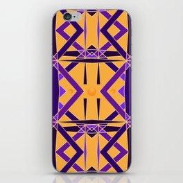 Gold and Purple Diadem iPhone Skin
