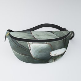 Botanical Succulents // Dusty Blue Green Desert Cactus High Quality Photograph Fanny Pack