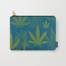 Marijuana Cannabis Weed Pot Indie Style Carry-All Pouch