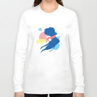 dramatical murder Long Sleeve T-shirts featuring DRAMAtical Murder (Aoba) by MyobiArt