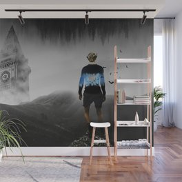 Are you Bat-man ? By GEN Z Wall Mural