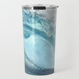 """Caspian's Wave"" Travel Mug"