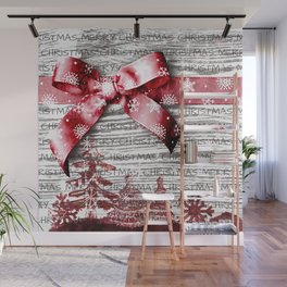 Christmas Time Wall Mural