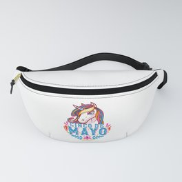 Cinco de mayo Mexican Unicorn Funny Humor product Fanny Pack