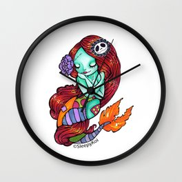 Sally-Maid Wall Clock