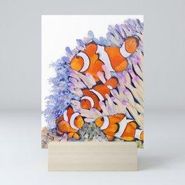 Colorful Clownfish Mini Art Print