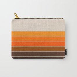 Golden Spring Stripes Carry-All Pouch