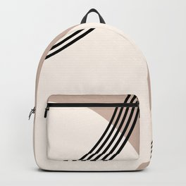 Minimal Abstract Circle Glam #1 #minimal #decor #art #society6 Backpack