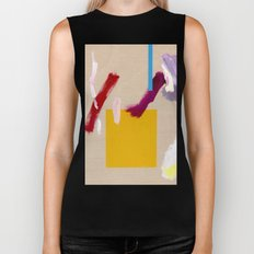 Untitled (Abstract Composition 3) Biker Tank