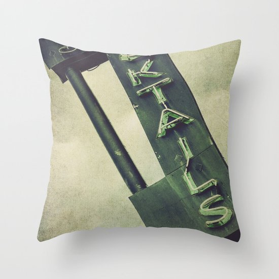 Cheers To Edith! Throw Pillow