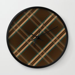 My Coat Wall Clock