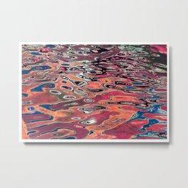 Water art 25 Metal Print