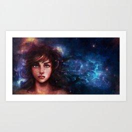 We Are made of Starstuff Art Print