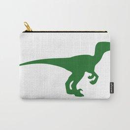 Velociraptor Dinosaur Silhouette Carry-All Pouch