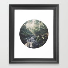 Sunbeam River Framed Art Print