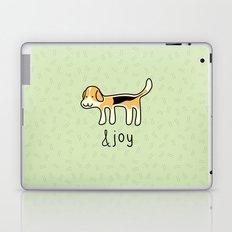 Cute Beagle Dog &joy Doodle Laptop & iPad Skin