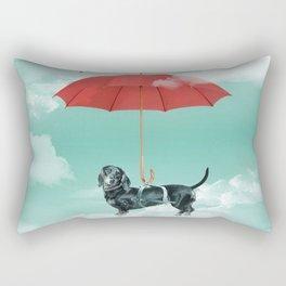 Dachshund chute Rectangular Pillow