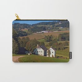 Beautiful traditional farmland scenery | landscape photography Carry-All Pouch