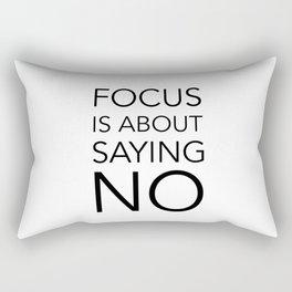 Focus is about.... Rectangular Pillow