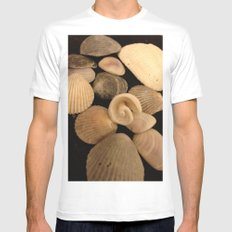 Shells  Mens Fitted Tee White MEDIUM