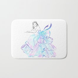 Ball Gown Bath Mat