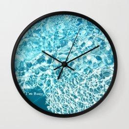 I'm Busy / Pool Wall Clock