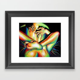 Passionate Love Framed Art Print
