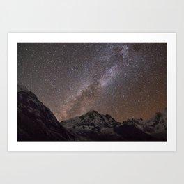 Annapurna Landscape Art Print