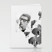 ysl Stationery Cards featuring Yves by Grace Ban
