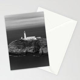 South Stack Lighthouse - Mono Stationery Cards