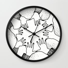 A Psychic Chain Closed Wall Clock