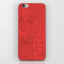 Lucy Flowers iPhone Skin