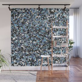 Terrazzo: Blue Wall Mural